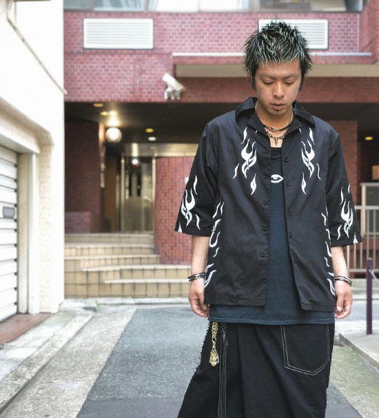 IKUMI ファイヤーシャツ