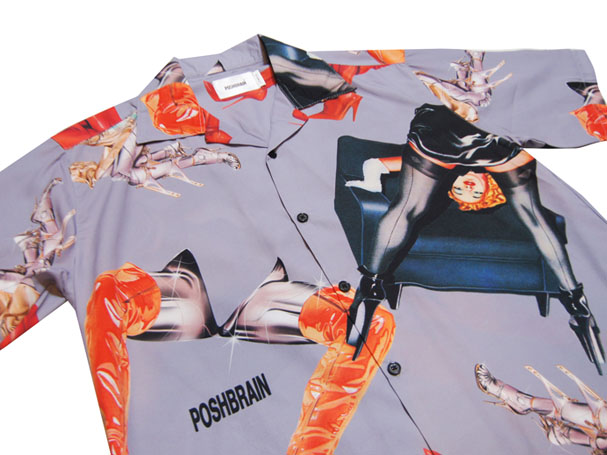 POSHBRAIN CHROME SHIRT