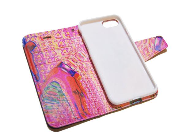 卵巣カテゴライズ 手帳型iPhoneケース
