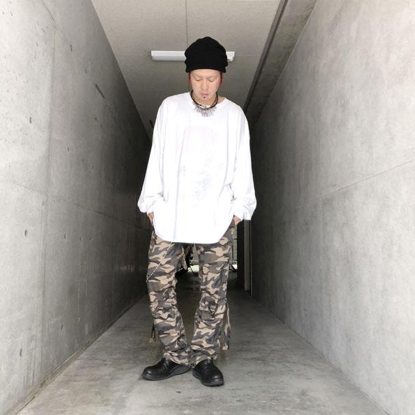 SHINICHI SUMINO 迷彩ボンテージパンツ