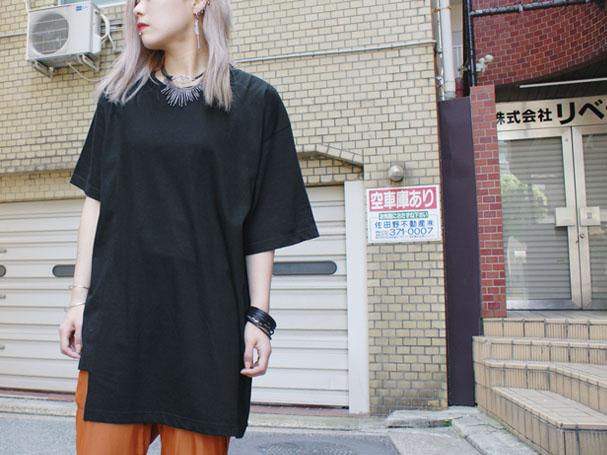 SHINICHI SUMINO アシンメトリーTシャツカットソー