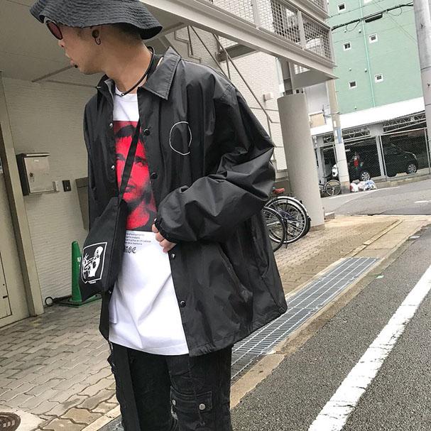 SUB-AGE. × DEVILOCK コーチジャケット