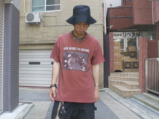 USED 古着 RAGE AGAINST THE MACHINE 90s バンドTシャツ