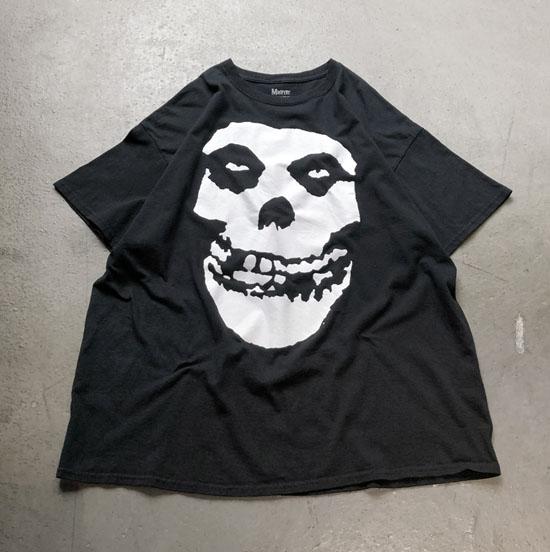 USED 古着 Misfits ミスフィッツプリントTシャツ