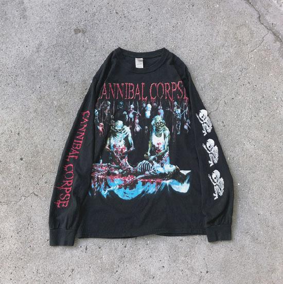 USED 古着 CANNIBAL CORPSE バンドTシャツ