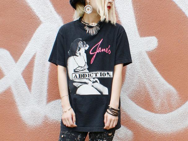 Jane's Addiction ヴィンテージバンTee