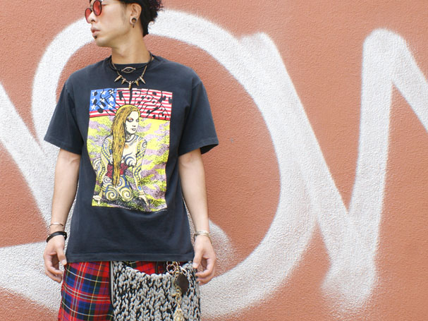 Red Hot Chili Peppers レッチリ KOZIK コジック ヴィンテージバンTee