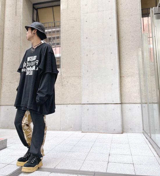 BODYSONG. ボディソング レイヤード Tシャツ