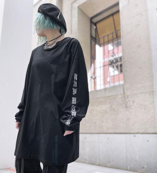 IKUMI 亜霊紅酸怒羅 LONG Tee