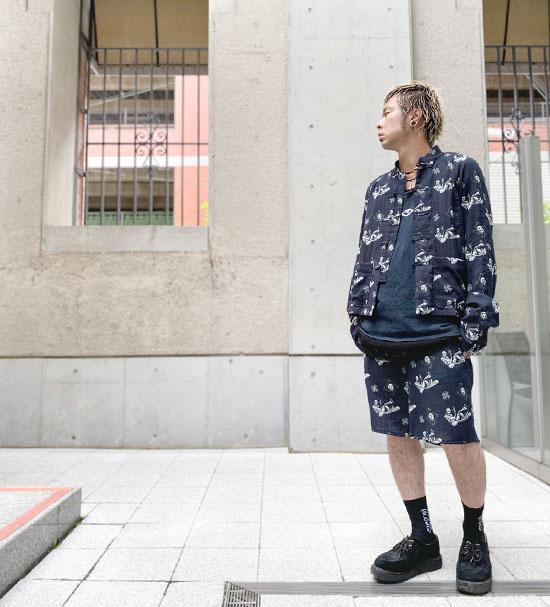 NOiSE CRAFT エネミーカンフーシャツ<br />