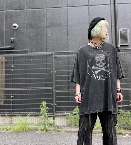 USED 古着 BlackSabbath 3XL BIGTシャツ