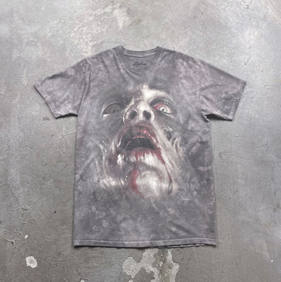 USED 古着 THE MOUNTAIN ZOMBIEゾンビTシャツ